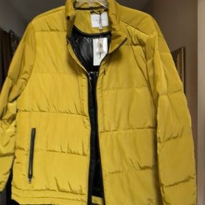 Goose down hiking jacket for men XX large NWT $495